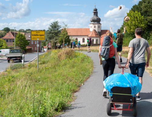 Bald getrennt, aber nicht allein – Unser Weg von Goldbach nach Schöllkrippen